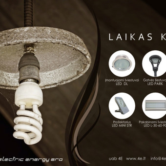 ELEKTROS projektavimas ir montavimas  (Žaibosauga, apšviet.) / Tadas Šiaulys UAB 4E / Darbų pavyzdys ID 726147