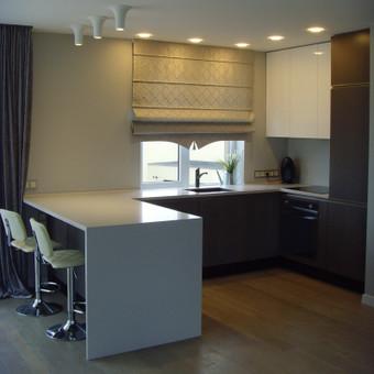"""Virtuvės baldai. Vonios baldai. Akmuo. UAB """"Forestė"""" / Dizainerė Audronė Baldai-Interjeras / Darbų pavyzdys ID 726869"""