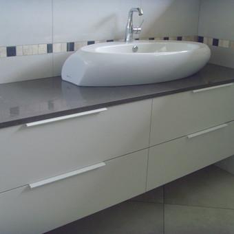 """Virtuvės baldai. Vonios baldai. Akmuo. UAB """"Forestė"""" / Dizainerė Audronė Baldai-Interjeras / Darbų pavyzdys ID 726873"""