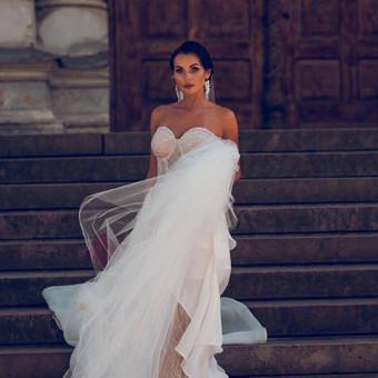Individualus vestuvinių suknelių siuvimas / MJ Bridal Couture / Darbų pavyzdys ID 726913