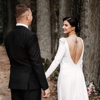 Individualus vestuvinių suknelių siuvimas / MJ Bridal Couture / Darbų pavyzdys ID 726965