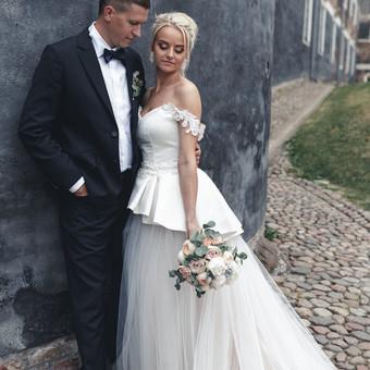 Individualus vestuvinių suknelių siuvimas / MJ Bridal Couture / Darbų pavyzdys ID 726973