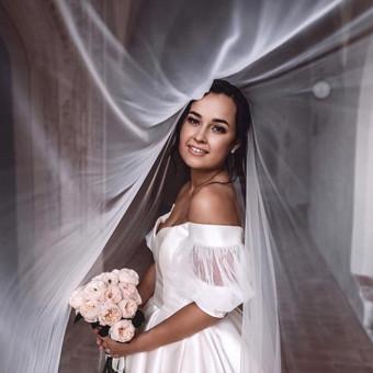 Individualus vestuvinių suknelių siuvimas / MJ Bridal Couture / Darbų pavyzdys ID 726975