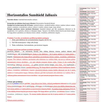 Tekstų kūrėja, redaktorė, rašto darbų konsultantė / Inesa / Darbų pavyzdys ID 727321