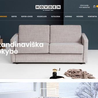 Internetinė parduotuvė baldų gamybos ir prekybos įmonei