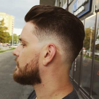 Vyrų kirpėjas - barzdaskutys / Arnoldas Stančikas / Darbų pavyzdys ID 730099