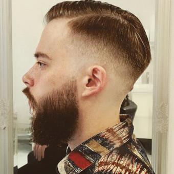Vyrų kirpėjas - barzdaskutys / Arnoldas Stančikas / Darbų pavyzdys ID 730101
