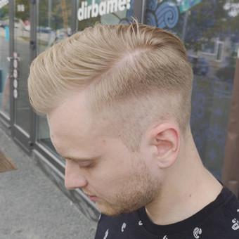 Vyrų kirpėjas - barzdaskutys / Arnoldas Stančikas / Darbų pavyzdys ID 730103