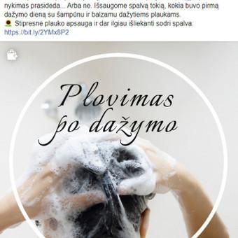 Socialinių tinklų kūrimas ir administravimas / Viktorija Danisevičiūtė / Darbų pavyzdys ID 730223