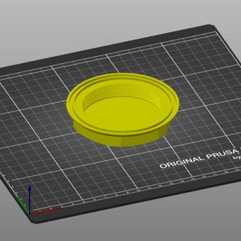 3D spausdinimas, modeliavimas / Vainius Ramanauskas / Darbų pavyzdys ID 730943