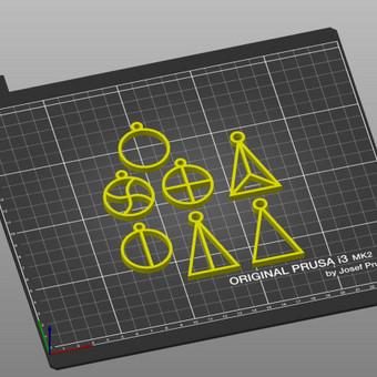 3D spausdinimas, modeliavimas / Vainius Ramanauskas / Darbų pavyzdys ID 730947