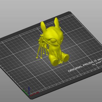 3D spausdinimas, modeliavimas / Vainius Ramanauskas / Darbų pavyzdys ID 730951