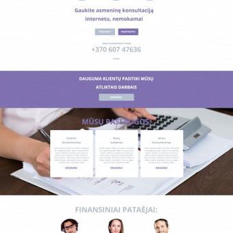 Internetinių svetainių kūrimas Vilniuje / Bona Solutions / Darbų pavyzdys ID 92695