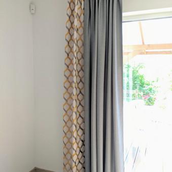 Užuolaidų, namų tekstilės modeliavimas,siuvimas / Vilma Nezgadienė / Darbų pavyzdys ID 733695