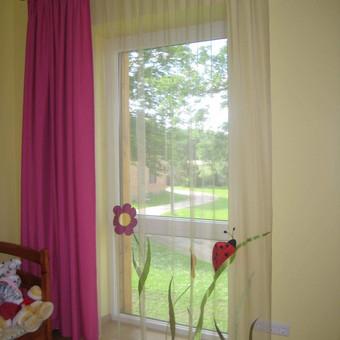 Užuolaidų, namų tekstilės modeliavimas,siuvimas / Vilma Nezgadienė / Darbų pavyzdys ID 733701