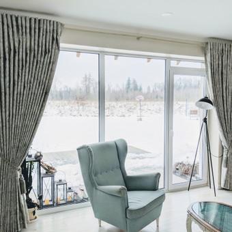 Užuolaidų, namų tekstilės modeliavimas,siuvimas / Vilma Nezgadienė / Darbų pavyzdys ID 733715