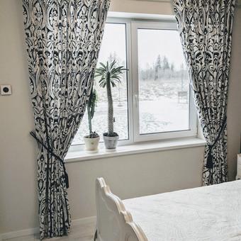 Užuolaidų, namų tekstilės modeliavimas,siuvimas / Vilma Nezgadienė / Darbų pavyzdys ID 733719
