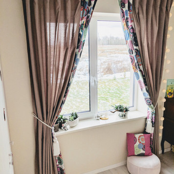 Užuolaidų, namų tekstilės modeliavimas,siuvimas / Vilma Nezgadienė / Darbų pavyzdys ID 733721