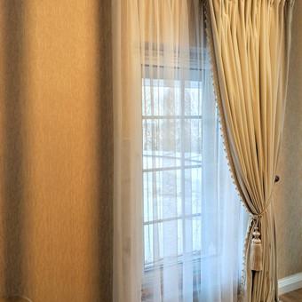 Užuolaidų, namų tekstilės modeliavimas,siuvimas / Vilma Nezgadienė / Darbų pavyzdys ID 733741