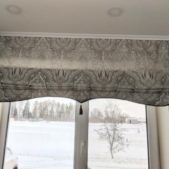 Užuolaidų, namų tekstilės modeliavimas,siuvimas / Vilma Nezgadienė / Darbų pavyzdys ID 733749
