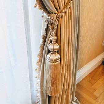 Užuolaidų, namų tekstilės modeliavimas,siuvimas / Vilma Nezgadienė / Darbų pavyzdys ID 733751