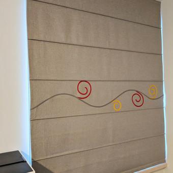 Užuolaidų, namų tekstilės modeliavimas,siuvimas / Vilma Nezgadienė / Darbų pavyzdys ID 733763