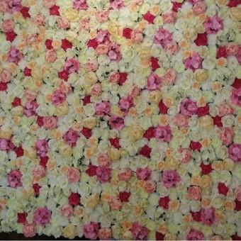 Dirbtinių gėlių sienos nuoma / Marta A. / Darbų pavyzdys ID 735867