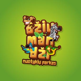 Džiumandži - vaikų nuotykių parkas        Logotipų kūrimas - www.glogo.eu - logo creation.