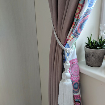 Užuolaidų, namų tekstilės modeliavimas,siuvimas / Vilma Nezgadienė / Darbų pavyzdys ID 738363