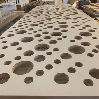 CNC frezavimo paslaugos, filinginiai fasadai, HPL frezavimas / UAB LAIPSNIS LT / Darbų pavyzdys ID 738463