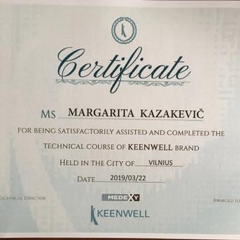 Med. kosmetologė Margarita Kazakevič Vilnius / Margarita Kazakevič / Darbų pavyzdys ID 740181