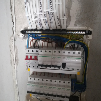 Elektrikas Vilniuje, Elektros darbai / Igoris / Darbų pavyzdys ID 740579