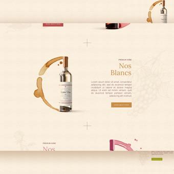 le Cave de Virebent - Wine shop in France       Web design UI UX        Logotipų kūrimas - www.glogo.eu - logo creation.