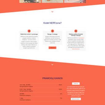 Internetinių svetainių ir el. parduotuvių kūrimas / Marius Zienius / Darbų pavyzdys ID 744393