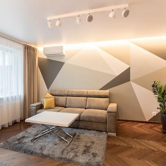 Sienų dekoravimas, išskirtinė vidaus apdaila. / Rolandas / Darbų pavyzdys ID 744773