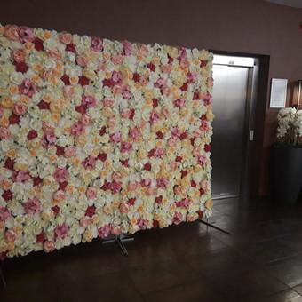 Dirbtinių gėlių sienos nuoma / Marta A. / Darbų pavyzdys ID 744947
