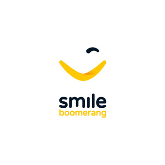 Smile boomerang - Give a smile and get one back ↓↓↓ Interactive Artificial Intelligence (AI) solution designed for hotels ↓↓↓ Used by client ↓↓↓ Logotipų kūrimas - www.glogo ...