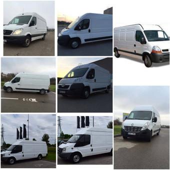 Krovininių, keleivinių mikroautobusų nuoma, vežam krovinius / Eurosiunta / Darbų pavyzdys ID 755205