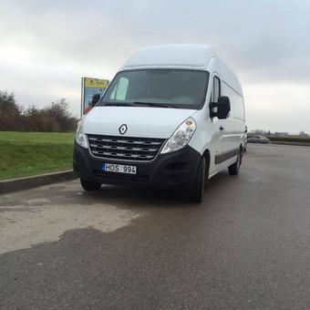 Krovininių, keleivinių mikroautobusų nuoma, vežam krovinius / Eurosiunta / Darbų pavyzdys ID 755211