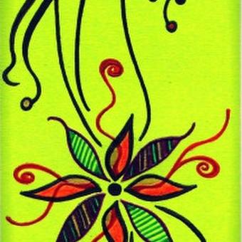 """Skirtukas knygai """"Žiedas"""" Art by Rama"""