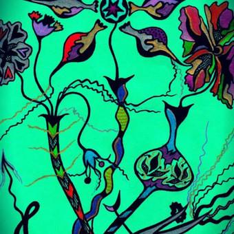 """Atvirukas """"Draugystė"""" / idėjos knygų iliustravimui... Art by Rama"""