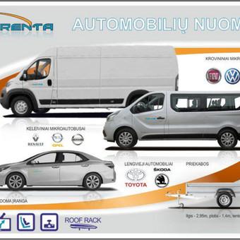 Keleivinių, Krovininių, Lengvųjų automobilių nuoma / leo666 / Darbų pavyzdys ID 761679