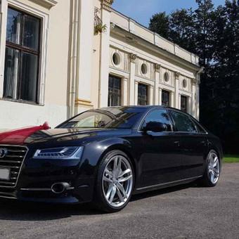 Prabangiu Audi A8 Long Nuoma Vestuvėms / a8nuoma / Darbų pavyzdys ID 762191