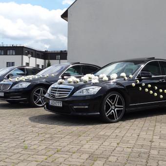 Prabangių Mercedes Benz S klasės Long nuoma / Transportas vestuvėms / Darbų pavyzdys ID 762241