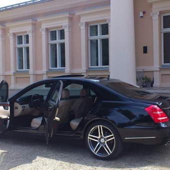 Prabangių Mercedes Benz S klasės Long nuoma / Transportas vestuvėms / Darbų pavyzdys ID 762251