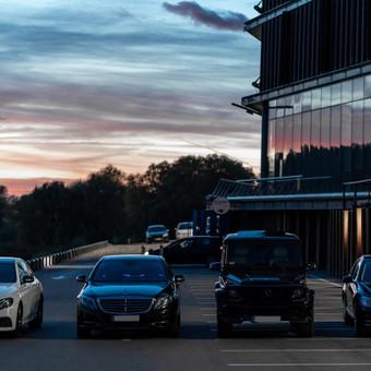 Mercedes automobilių nuoma su vairuotoju / Transportas vestuvėms / Darbų pavyzdys ID 762947