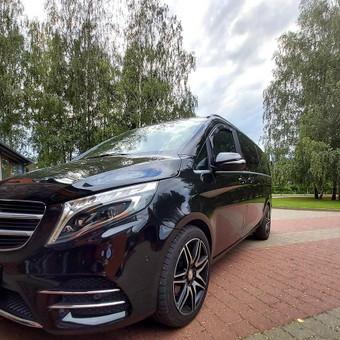 Mercedes automobilių nuoma su vairuotoju / Transportas vestuvėms / Darbų pavyzdys ID 762955