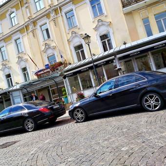 Mercedes automobilių nuoma su vairuotoju / Transportas vestuvėms / Darbų pavyzdys ID 762961