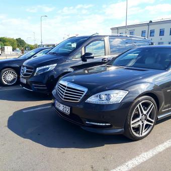 Mercedes automobilių nuoma su vairuotoju / Transportas vestuvėms / Darbų pavyzdys ID 762967