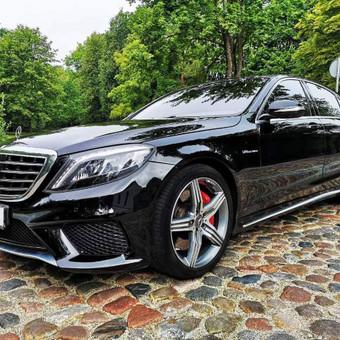 Mercedes automobilių nuoma su vairuotoju / Transportas vestuvėms / Darbų pavyzdys ID 762973